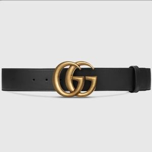 GUCCi wide leather belt size 95